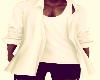 (Ci) Open Jacket  White