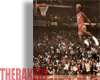 MJ Foul Line Dunk Poster