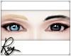 Blond+Black Eyebrows