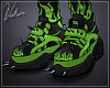 THRILLKILL Shoes Green