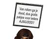 Anti-Ajax Headsign