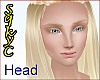 Emma Head Blond Blue
