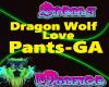 Dragon Wolf Love Pants