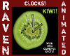 ANIMATED KIWI CLOCK!