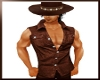 BrownCowboy Muscle Shirt