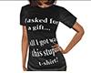 Gift Req Stupid Shirt F