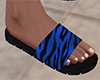 Blue Stripe Sandals (M)