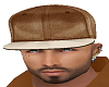 Brown Fitted Hat