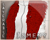 [Is] Fur Shrug Red
