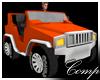 Orange Mini Suv