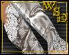 Wedding Gloves Silver