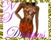 NS JUNGLE DRESS Tiger