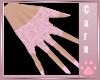 *C* Pink Kitten Nails