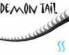 Blk & White Demon Tail