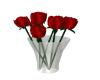 Red Roses W Vase