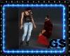 SENSUAL DANCE BAR COUPLE