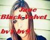 Jane Black Velvet
