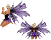 purple flamed wings