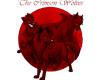 Crimson Wolves Sticker