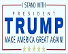 Trump Head Sign
