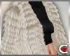 *SC-Fur Coat Cream Layrb
