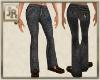 *JR Jeans Patchwork Blk