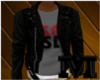 SSCL x Leather Jacket