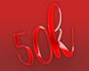 50k Love Sticker