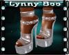 *Nina Clear Heels