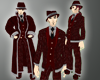 Gothic Mobster Coat Male