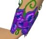 PurpleFlowerBraceletL