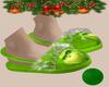 !B Grinch Slippers