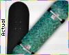 ☯ Glittery Skateboard