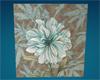 Blue floral art 1