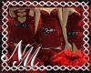 ~NM HeartsDesire/Burgndy