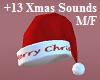 NL-Santa Hat Red+Sounds