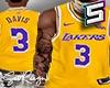 ! LA Lakers Davis Jersey