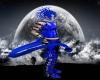 Blue Rave Demon Tail (M)