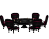 Heart-Rose Round Table