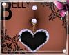 *K Heart belly
