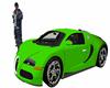 neon green bugatti