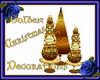 Golden Christmas Decor