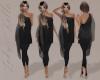 Black Bodysuit  & Tunic