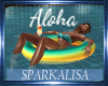 (SL) Aloha Pool Float