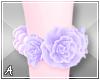 A| Pastel Rose Anklets