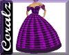 Plaid Purple BallGown CZ