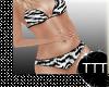 Maternity Zebra Bikini