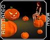 Pumpkin Sitting Hallowee