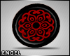 ! Plugs Ear Mandala Red