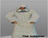 White Fur robe